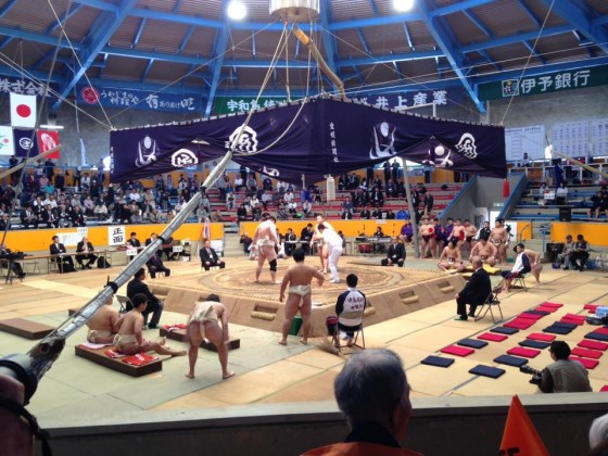 第33回全日本学生選抜相撲宇和島大会①