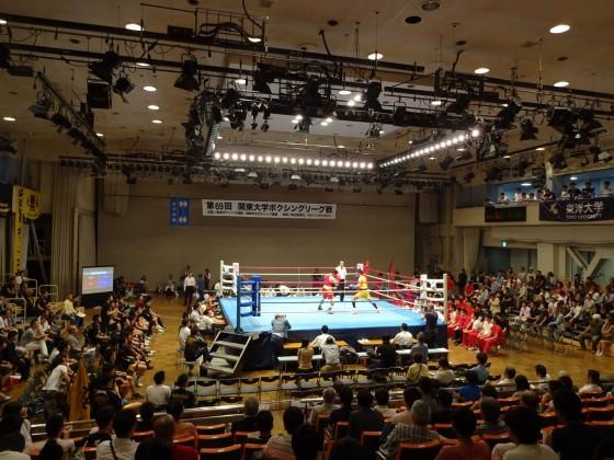 関東大学ボクシングリーグ戦 拓大対日大①