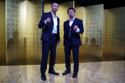 ボクシング世界王者2名とのふれあい会開催②
