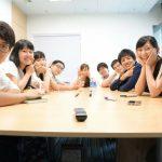 香港の学生との交流会の様子