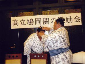 まげ結いの儀式