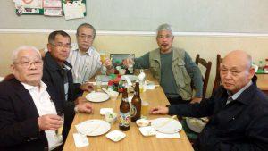 追悼ミサ後の昼食会