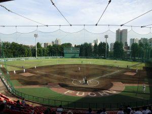 球場の風景