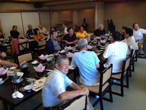 ホテル鳴門海月で昼食