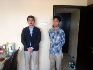 (左)齋藤さん (右)石橋
