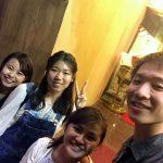 香港理工大学生と交流