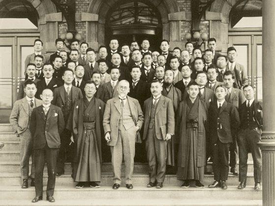 後藤学長歓迎記念 東洋協会学友会大連支部
