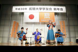 モンゴル楽器バンド