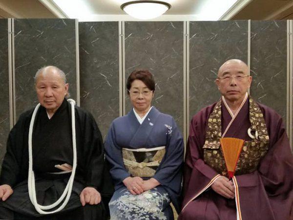 田中清元ご夫妻と中島会長