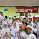 メンテン小学校の子どもたち
