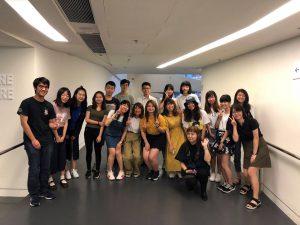 香港理工大学学生と交流
