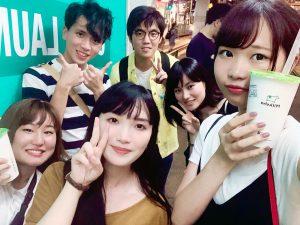 香港理工大学の学生と交流
