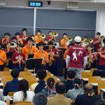 紅陵高校とのコラボ演奏