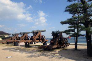 四カ国連合艦隊戦砲台