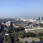 サクラタワーから見たヤンゴン市内