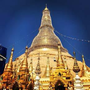 ヤンゴン市内パゴダ
