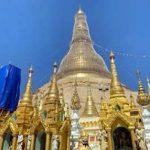 ミャンマーの象徴 パゴダの様子