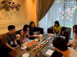ミャンマー外国語大学日本語学科学生との交流