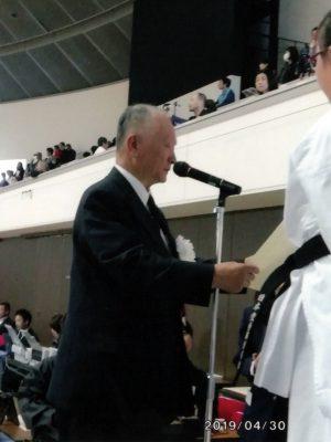 田中長剛先輩
