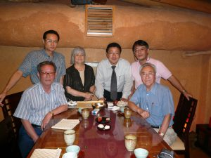 2008年9月 村上祥子教授(韓国語)と共に