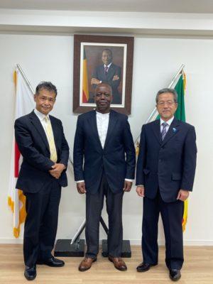 大使館訪問写真